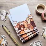 feline friends memo pads