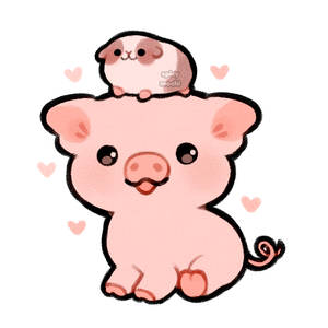 pig and guinea pig