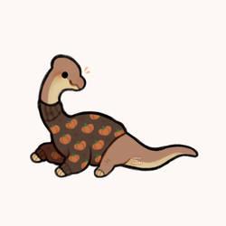 turtleneck brachiosaurus