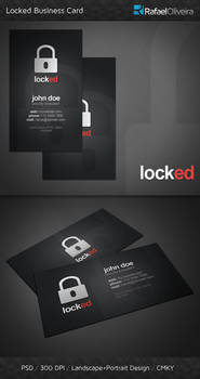 Locked Business Card
