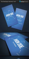 The Developer Business Card by Rafael-Olivra