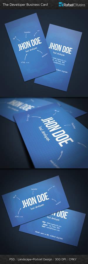 The Developer Business Card
