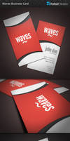 Waves Business Card by Rafael-Olivra