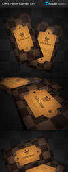 Chess Master Business Cards by Rafael-Olivra