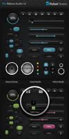 Pro Retina Audio UI by Rafael-Olivra