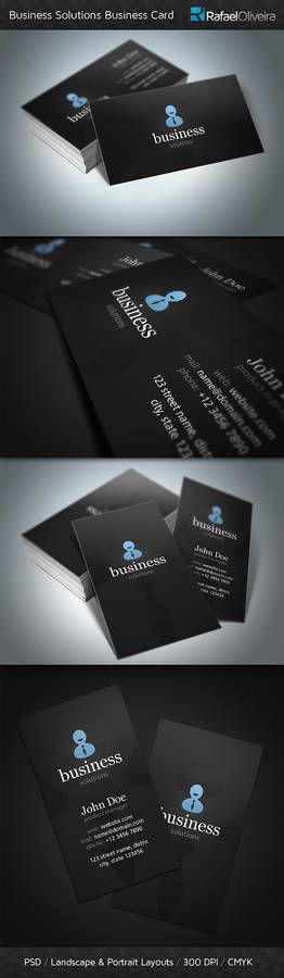 Business Solutions Business Cards