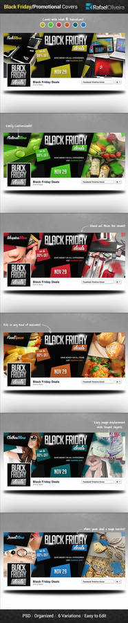 Black Friday / Promotional Facebook Covers