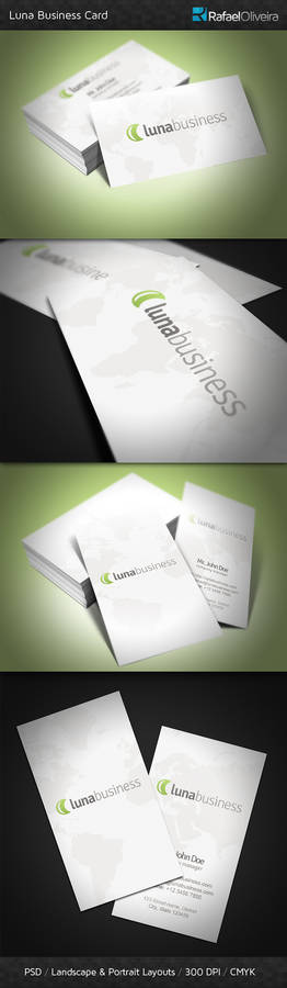 Luna Business Card