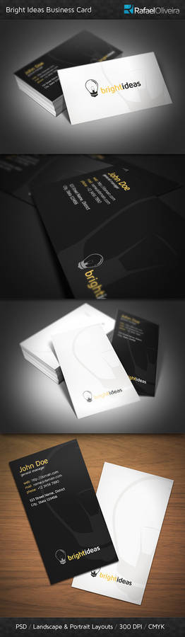 Bright Ideas Business Card
