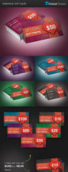 Beauty and Colorful Gift Cards by Rafael-Olivra