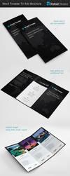 World Traveler Tri Fold Brochure by Rafael-Olivra