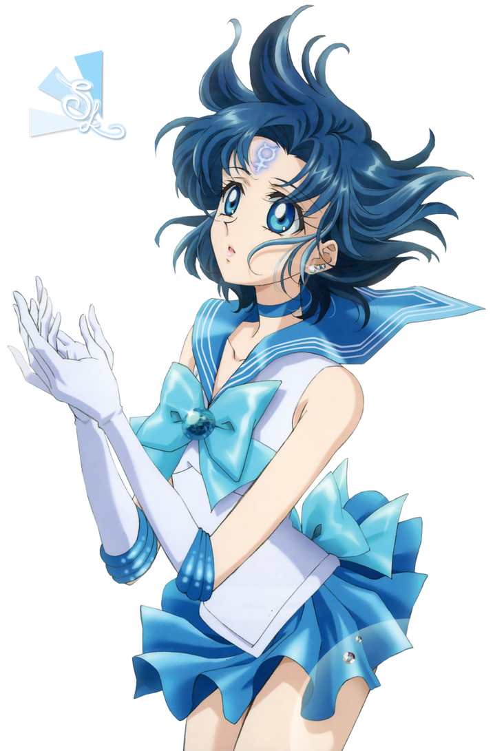 Sailor Mercury Render by XxSweetLemonadexX