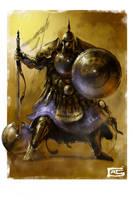 Warrior by IWarpbladeI
