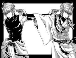 Saiyuki Versus - Sanzo by Shira-chan