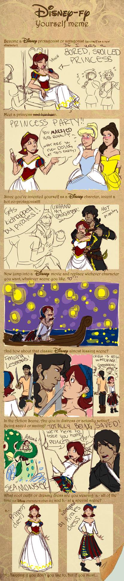 Disney-fy Me Meme by Shira-chan