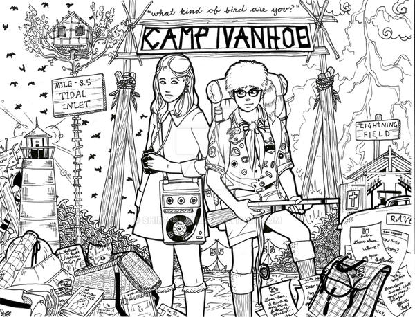 Moonrise Kingdom by Shira-chan