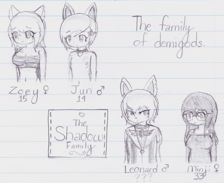 The Shadow Family by Magenta-Magic