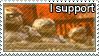 I support carmine bros stamp
