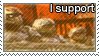 I support carmine bros stamp by WinterSpectrum