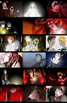 silent hill 1 anime endings by TexD41