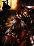 Zelda TP: horse battle