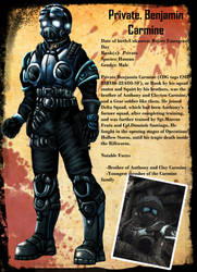 Ben Carmine Character profile by TexD41