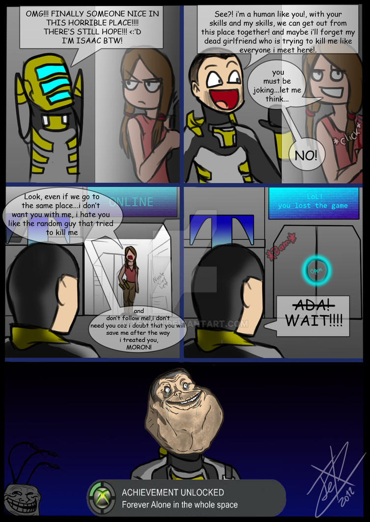 Poor Isaac... by WinterSpectrum