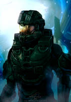 Halo 4: Chief's Return by WinterSpec