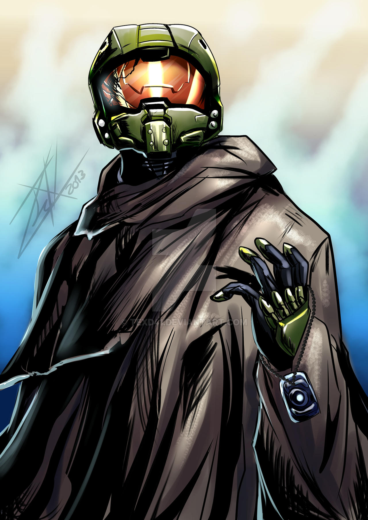 Halo 5 guardians master chief cloak