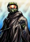Halo 5 chief speedpainting