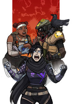 The adventures of the Apex legends friends