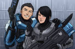 Halo ocs- Boss and Maya