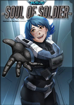 HALO SOUL of SOLDIER: Cover CH1
