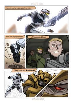 Halo SoS: CH1 Page 3