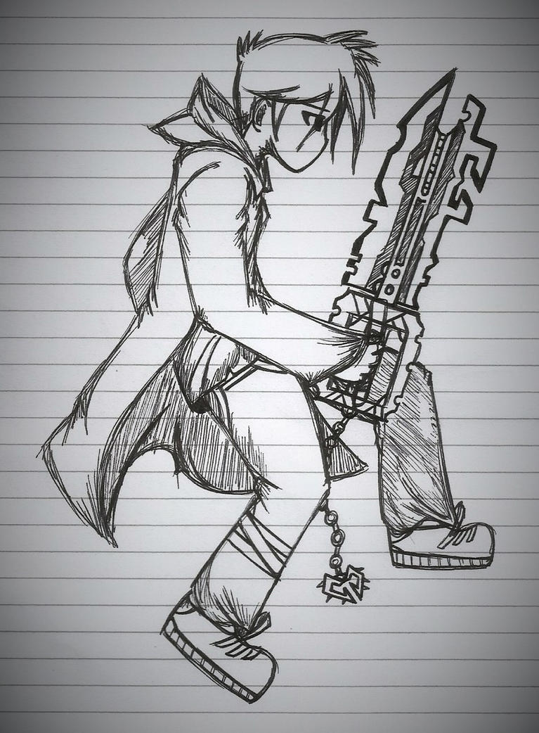 Brent's KeyBlade~CrossHeart! by username465
