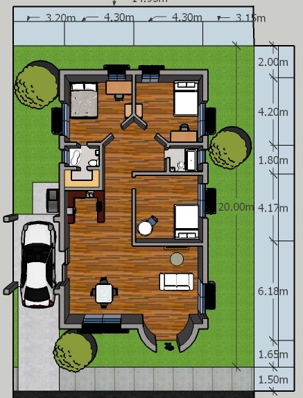 Floor Plan Example by username465
