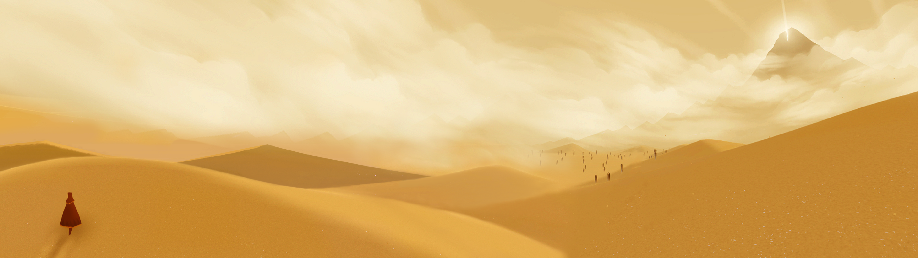 Journey Dual Screen Wallpaper 3840x1080 By Nonexistent One