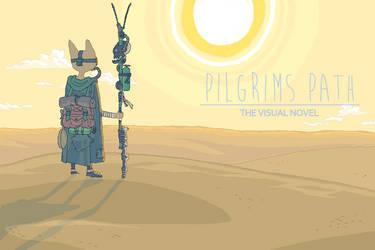 Pilgrims Path Visual Novel Title Screen by ProNice