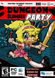 Dungeon Slumber Party Concept Box Art by ProNice