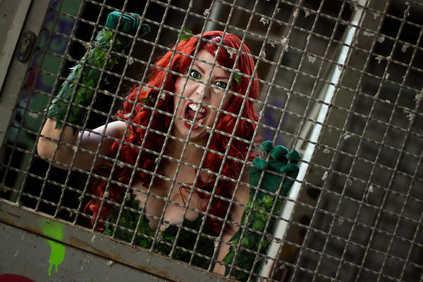 Poison Ivy : Arkham Asylum by Naraku-Sippschaft