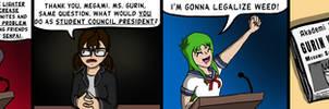 Dank Midori #7 - 'The Election' by TheCittiverse