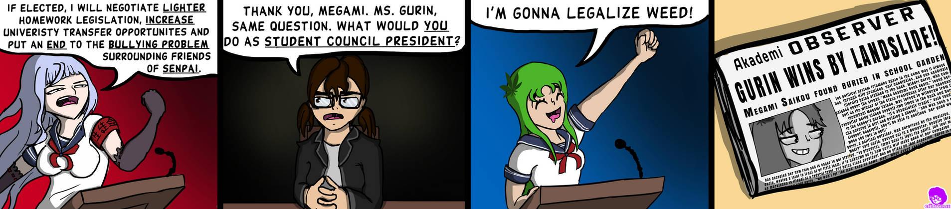 Dank Midori #7 - 'The Election'