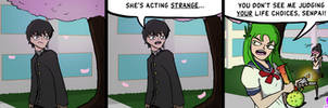Dank Midori #8 - Acting Strange by TheCittiverse