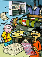 Printing Press - Ed, Edd, n Eddy by TheCittiverse