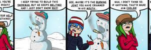 Dank Midori #65 - Snowman