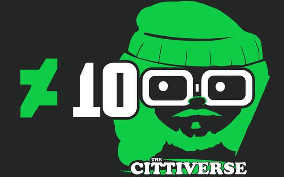 1000 DeviantArt Watchers