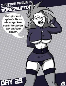 Dressuptober 23 - Evil Regime Uniform