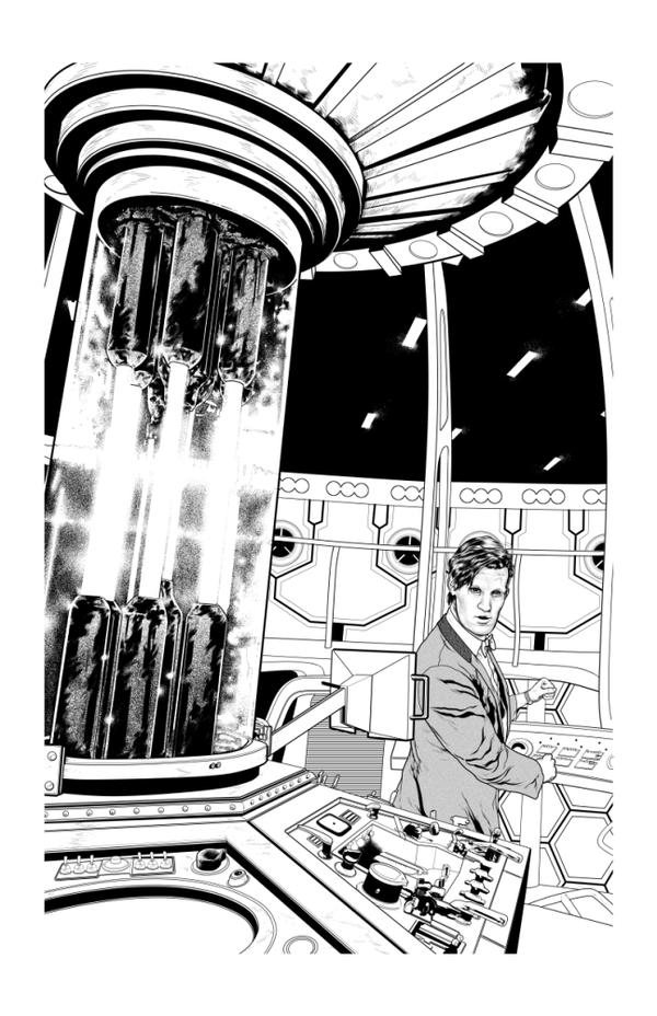 11thDoctor by StephenMorrow