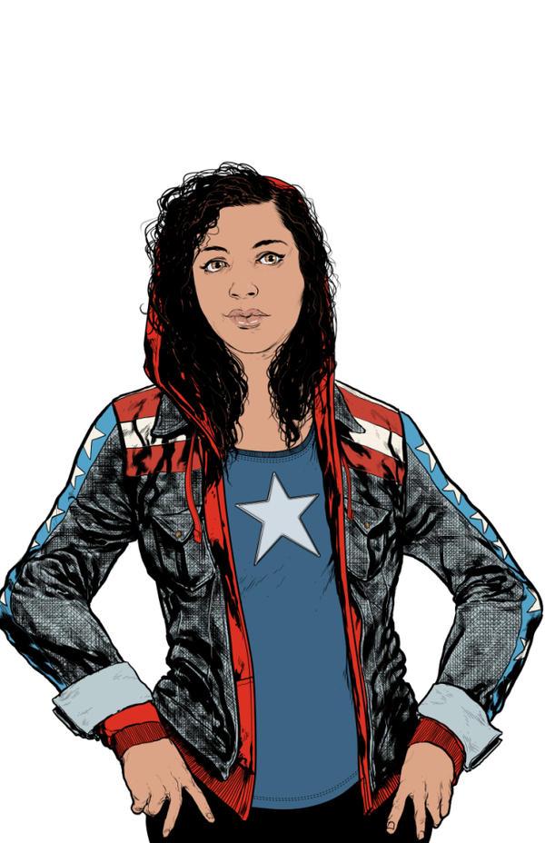 Ms America Chavez by StephenMorrow