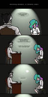 Avoiding Answers: A Celeste Comic